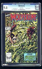 1990 Wolverine #22 Marvel John Byrne Roughouse CGC Graded 9.8 X-Men Avengers WP