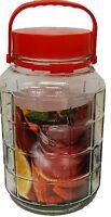 Large Pickle Jars Preserve Jars Airtight 5 Litre 8 litre & 10 Litre With Handle