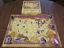 American Indian Tribes - Signed by Mary Masters - Jigsaw Puzzle - SunsOut