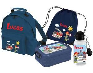 SET Kindergartenrucksack Classic Name Wunschmotiv Mepal Kinderrucksack