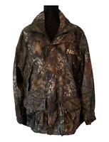Rocky Pro Hunter Jacket SilentHunter Mossy Oak Break Up Camo Jacket - Medium