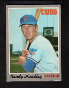 RANDY HUNDLEY 1970 O-PEE-CHEE CHICAGO CUBS # 265