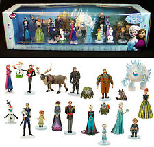 New FROZEN MEGA 20 FIGURINE SET Disney Figures OLAF Elsa ANNA Sven MARSHMALLOW