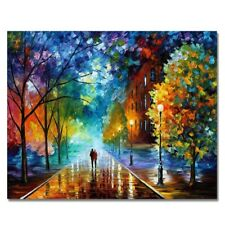 Paintworks Paint By Number Kits Diy Oil Painting Unique Gift-Romantic Night L3M4