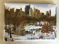 Central Park in the winter New York City  magnet