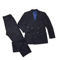 Magee Clothing Black Prince Edward 3//4 Length Wool EX HIRE Stock Good Condition