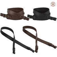 Shotgun Sling Rifle Strap Leather Stitched Hunting Cobra Style Men Gift
