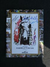 2019 Autographed Hambletonian Program Flag & Hat - Meadowlands Racetrack