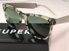 RetroSuperFuture Classic Francis Puma Silver Frame Sunglasses SUPER 774 NIB