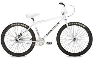 "Eastern 26"" BMX Growler Bicycle Bike 1 Piece Crank White NEW"