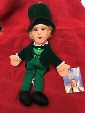 "Wb Wizard of Oz Mayor of Oz - Wizard - Bean Bag Plush - Nwt - 1998 - 9"""