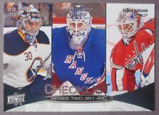2011-12 Upper Deck Series 2 Checklist #450 Henrik Lundqvist New York Rangers