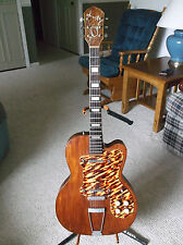 Vintage 1950s Kay Thin Twin K-161 Jimmy Reed Semi-Hollow Electric Guitar ~ Rare!