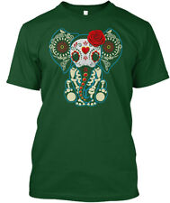 Day Of The Dead Elephants Hanes Tagless Tee T-Shirt