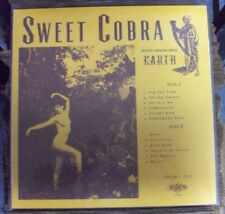 SWEET COBRA Earth LP NEW noise-rock w/download Magic Bullet Suicide Note