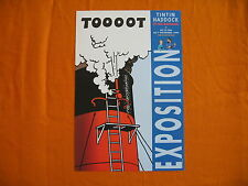 TINTIN Herge poster Tintin Exposition 1999 Kuifje expo Affiche affisch