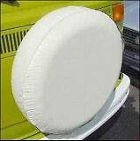 """ADCO Spare tire cover WHITE diameter 29"""" 225/75/15 235/75/15 8x16.5 245/70/15"""