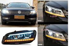 2011-2015 For VW Volkswagen Passat V6 B7  Headlights led DRL xenon Projector
