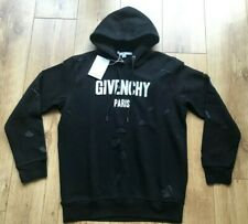 Mens Givenchy Distressed Hoodie Size X Large New With Tags