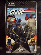 2008 Hasbro - G.I. Joe 25th Comic Pack - COBRA COMMANDER & TRIPWIRE NEW SEALED
