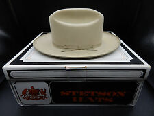 4x beaver vintage STETSON open road Silver Belly western hat cowboy fedora 6&7/8