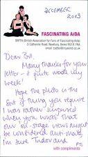 Marilyn Cutts. Fascinating Aida Signed  2003  BG.524