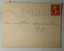 US Sc#279B Used On Cover Wausau WI 1900 Machine Cancel