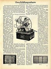 Dipl. - lng. paul Dreyer l'ozone-ventilation AEG tâches dans les colonies 1912