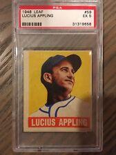 1948 Leaf Lucius Appling #59 PSA 5 EX