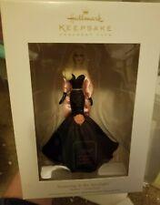 2012 Hallmark Stunning In The Spotlight Barbie Porcelain KOCC Club Ornament NIB