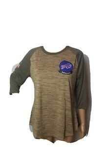 Buffalo Bills Nike NWT New Salute to Service Camo Shirt Womens Medium NFL Drifit
