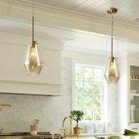 Kitchen Pendant Light Bar Lamp Room Glass Pendant Lighting Office Ceiling Lights