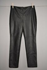 CHICO'S $99 Abbey Pieced Faux Leather Skinny Pull-On Pant 0.5 / Size 6