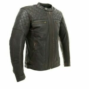 ARMR Moto Retoro Classic Motorcycle Jacket Cruiser Adventure Retro SRP £229.99