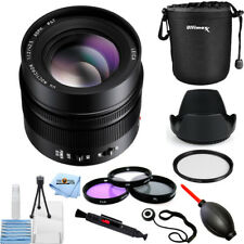 Panasonic Leica DG Nocticron 42.5mm f/1.2 ASPH. POWER O.I.S. Lens! PRO KIT NEW!