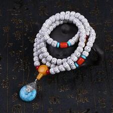 Tibetan Buddhist Buddha Meditation Prayer Bead Mala Bodhi Bracelet Necklace best