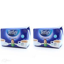 Tetley ORIGINALE 240 bustine di tè x2