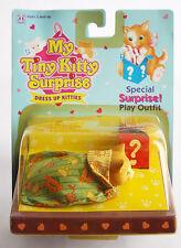 VERY RARE VINTAGE 1993 MY TINY KITTY SURPRISE DRESS UP KITTIES HASBRO NEW #3