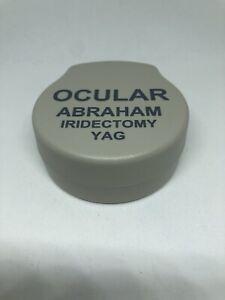 Ocular Abraham Iridectomy YAG Lens Ophthalmology OAIY