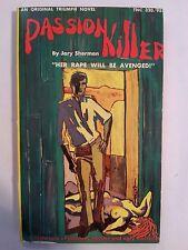 Passion Killer: Jory Sherman Triumph News 1968 Sleaze/Fiction E-7