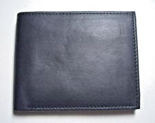 100% Genuine Leather Wallet in Black color