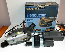 SONY HANDYCAM CCD-TR1100E CAMCORDER & BUNDLED ITEMS - TESTED & WORKING