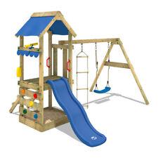 WICKEY FreshFlyer Torretta gioco in legno da giardino per bambini Scivolo