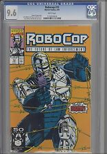 Robocop #12  CGC 9.6 199 Marvel Comic Based upon the Movie : Lee Sullivan Cover