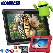 EX-3G 7 ZOLL TABLET PC 8GB ANDROID 4.4 QUAD CORE KINDER PAD HD WIFI DUAL KAMERA