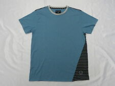 Billabong Stripe White Doz or Dark Blue Tee  Shirt Large