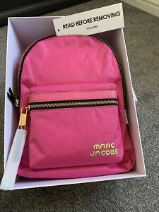 Marc Jacobs Trek Pack Medium Pink Nylon Backpack