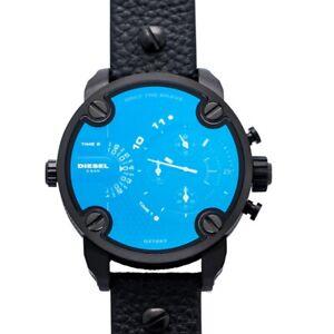 DIESEL  DZ7257 Blue Black Dial Men's Watch Genuine FreeS&H