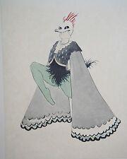 Walter Schnackenberg 1920 original print from rare art deco portfolio 12