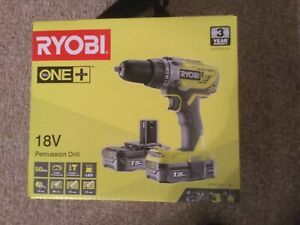 Ryobi R18PD3-0 18V ONE+ Hammer Drill with battery charger and toolbag BRAND NEW